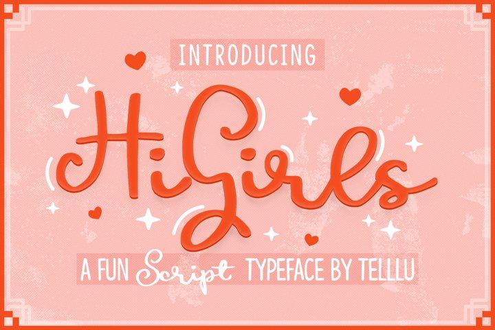 HiGirls Script