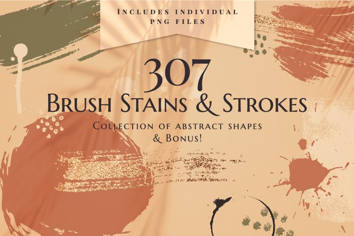 Brush Stains & Strokes collection