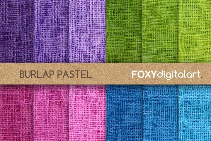 Digital paper burlap jute canvas linen rustic background
