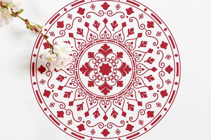 Mandala Ornaments