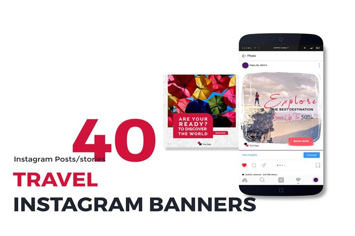 80 Travel Social Media Banners
