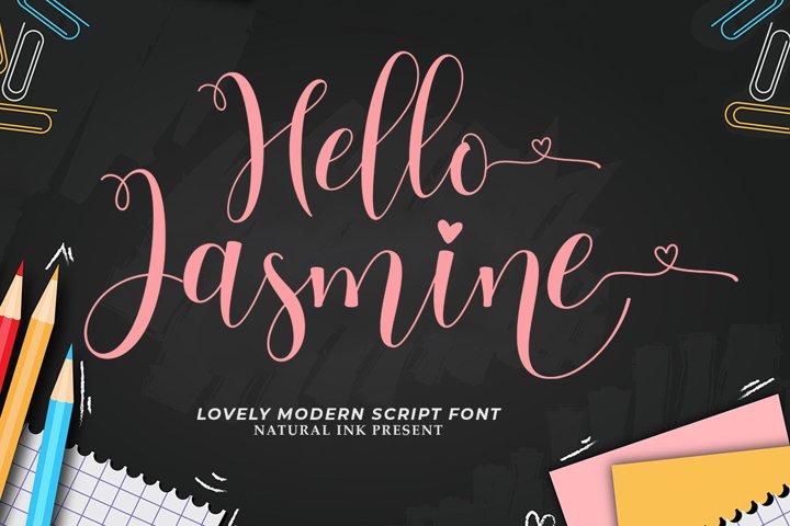 Hello Jasmine
