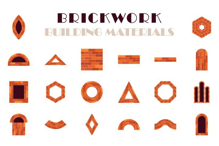 Brickwork.
