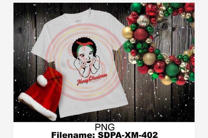 Christmas Sublimation Design for tshirt SDPA-MX-402