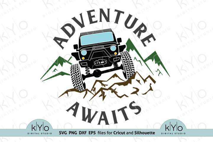 Off Road Adventure Awaits svg png dxf eps files