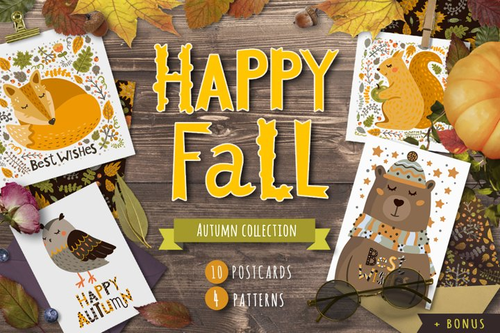 Happy Fall collection