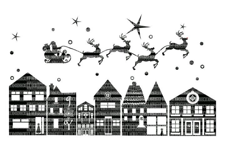 Christmas, SVG File, Santa, Reindeer