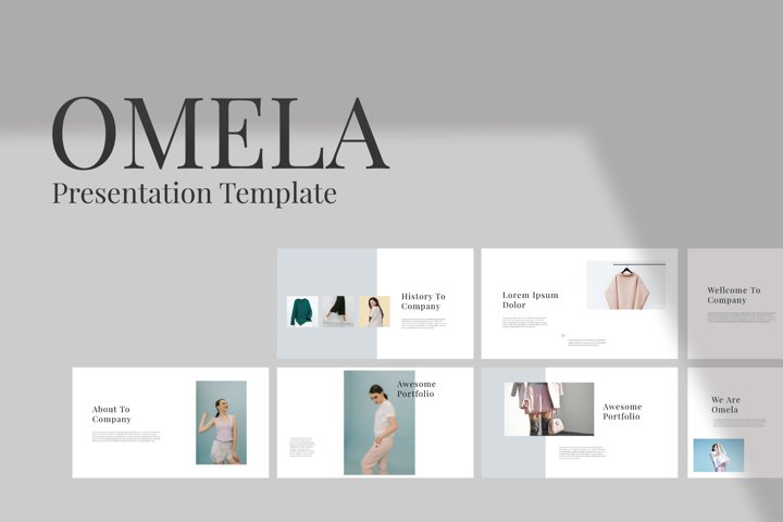 Omela Powerpoint Template