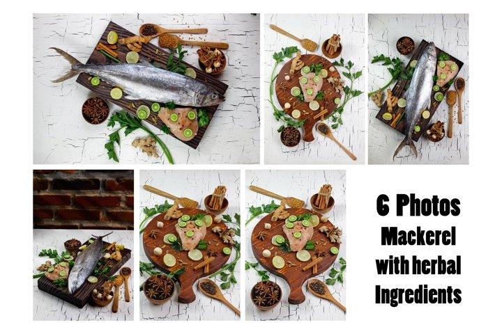 fish fillet with herbal ingredients