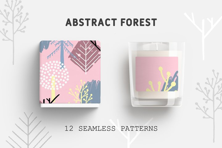 Abstract Forest - Seamless Patterns