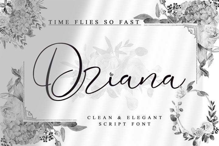 Driana Brideth - WEB FONT -