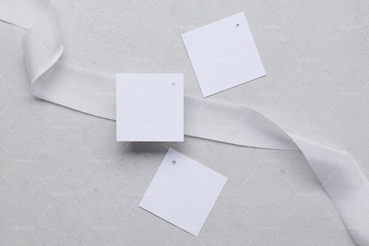 Wedding Stationery Mockup - Tag - Blanc Collection
