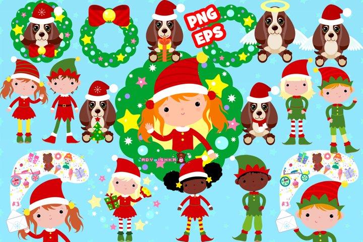 Christmas and New Year big set