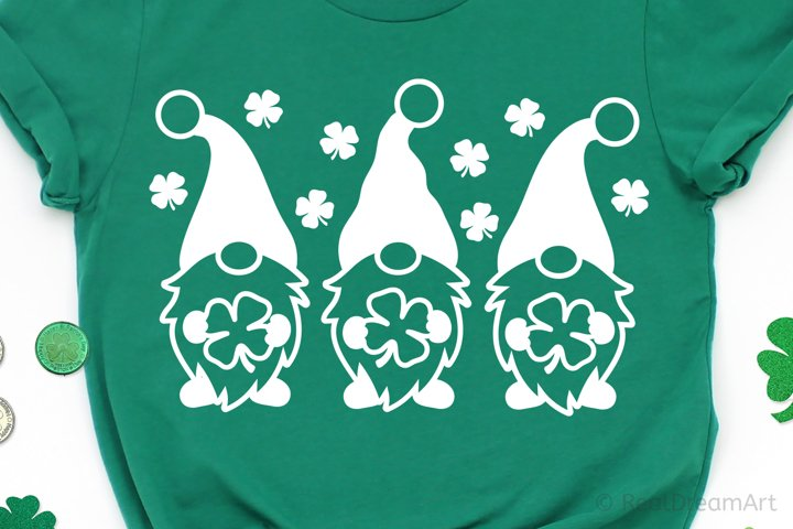 St Patricks Day Gnomes SVG, DXF, PNG, EPS example