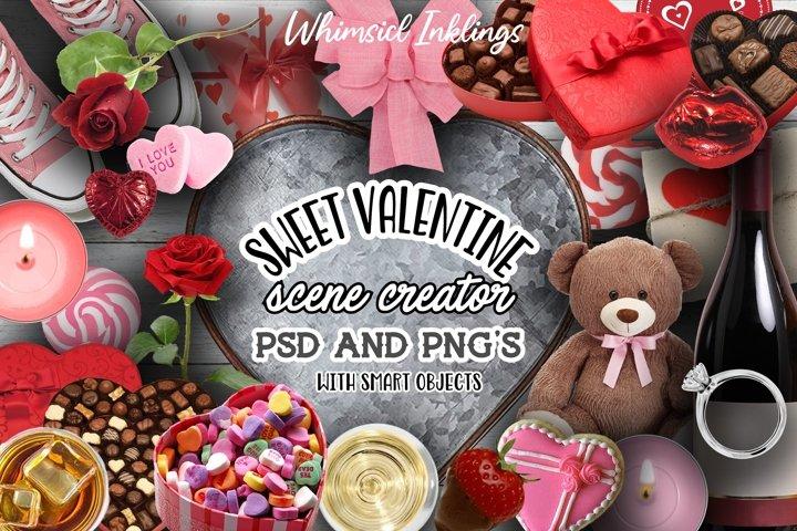 Sweet Valentine Scene Creator