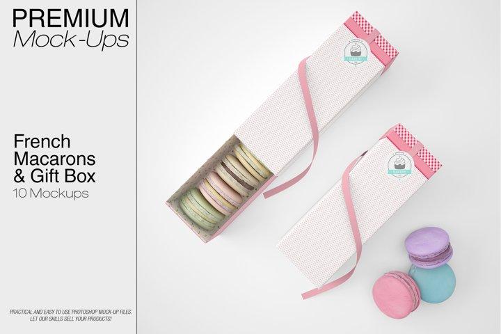 French Macarons & Gift Box Set