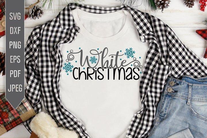White Christmas Svg. Winter Designs Svg.