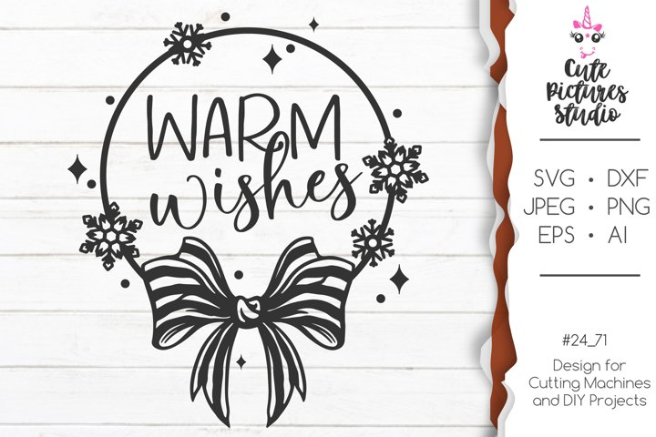 Christmas monogram Cricut svg png, Winter monogram svg