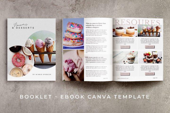 eBook - Booklet Canva Template | Poppylan