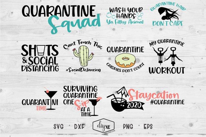 Quarantine Squad - A Collection Of Quarantine SVGs