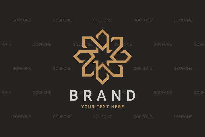 Luxury Geometric Royal Logo