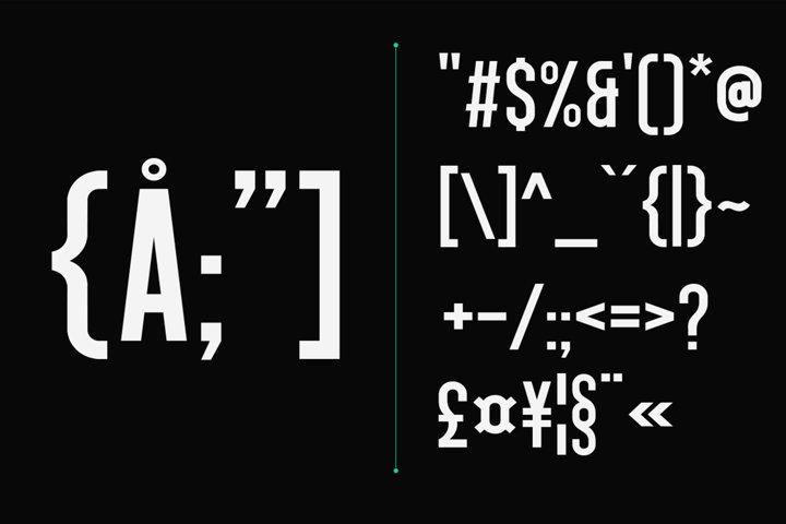 Singo - Sans Display Font example 14