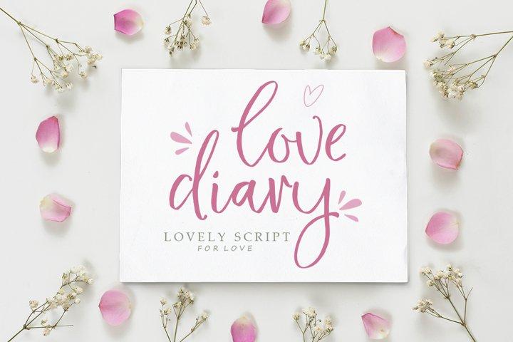 Love Diary Lovely Script