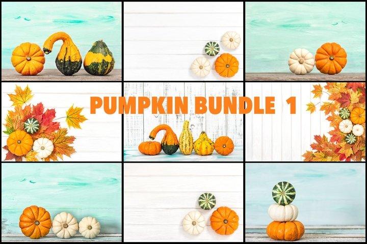 Pumpkin decoration wooden texture Thanksgiving background