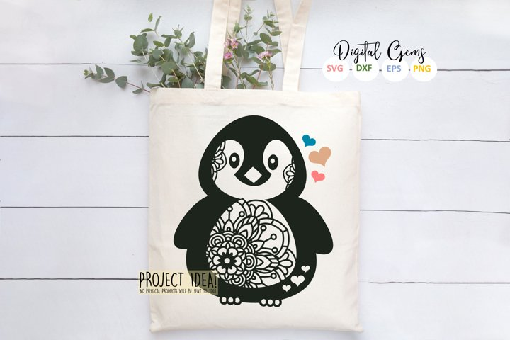 Penguin design - Free Design of The Week Design1