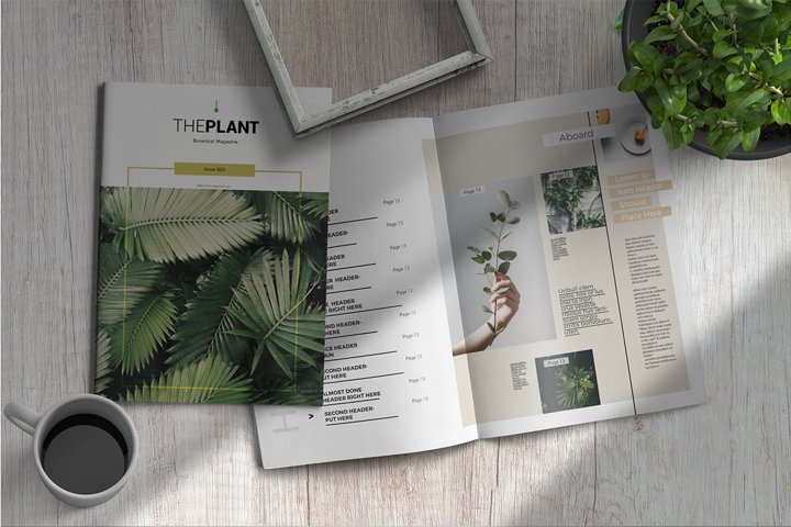 The Plant | Magazine Template