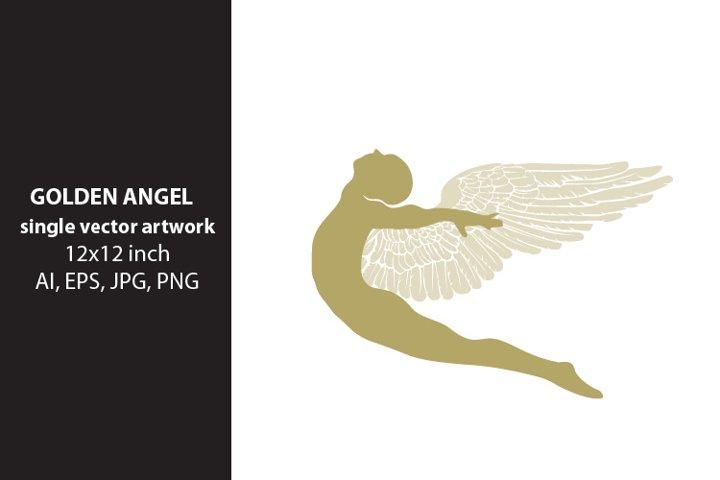 Golden Angel - VECTOR ARTWORK