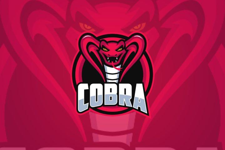 The King Cobra Mascot Logo Templates