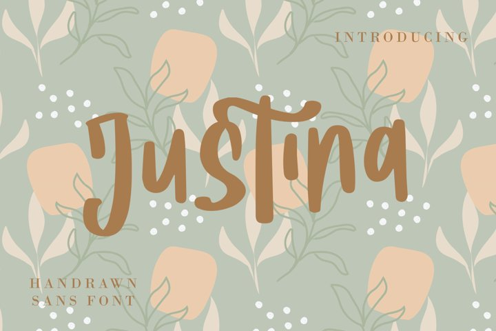 Justina - Handwritten Fonts