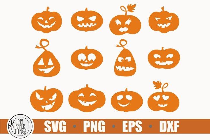 Pumpkin svg, Halloween svg, Fall svg, Autumn svg example