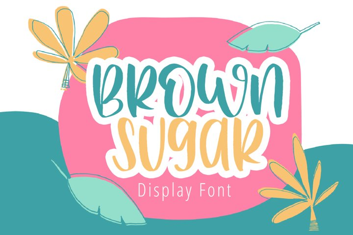 Brown Sugar - Cute Handwriten Font For Craft