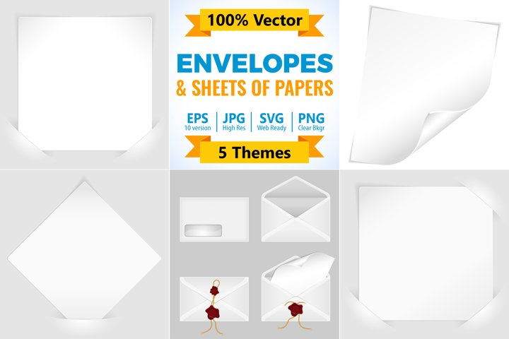 Envelopes and Sheets of Paper