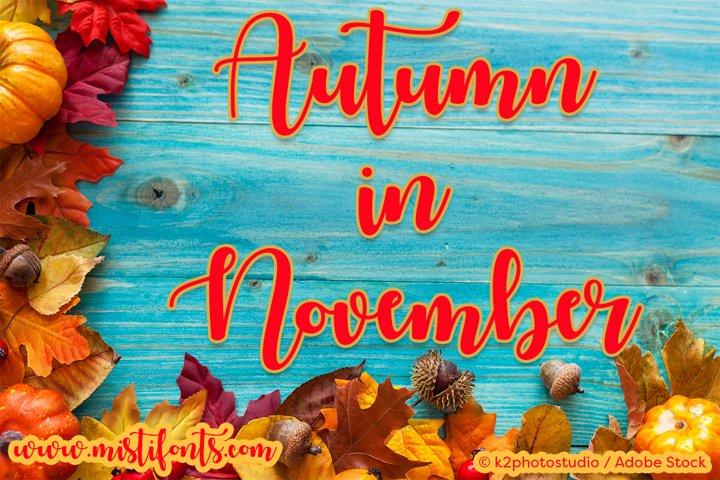 Autumn in November