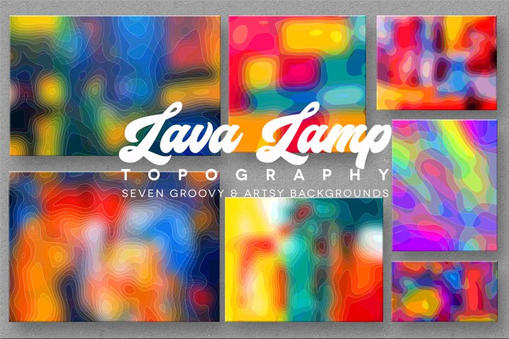 Lava Lamp Topography