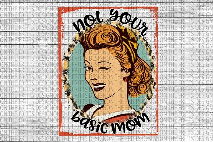 Not your basic mom digital design
