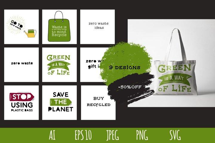 Zero waste bundle