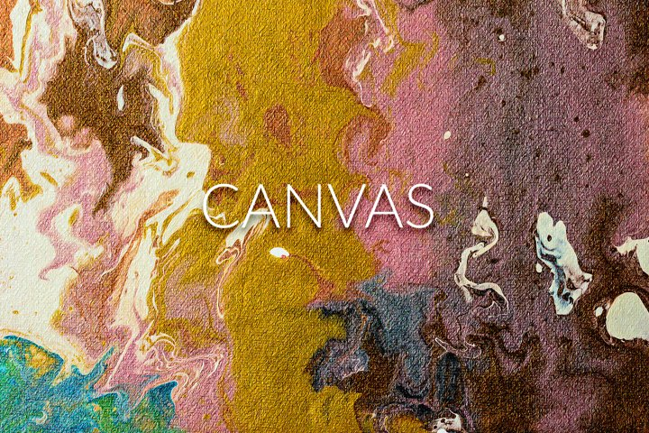 Handmade Liquid Paint - Canvas Vol.1