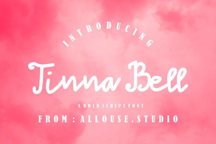 Web font - Tinna Bell - Bold Script Font