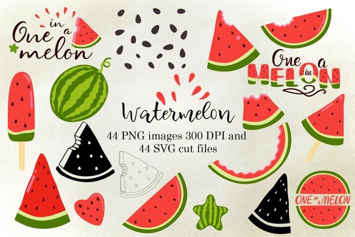 Watermelon SVG files for Cricut