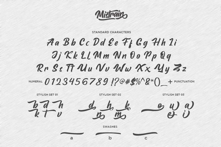 Mistrain Modern Hand Lettering - Free Font Of The Week Design3