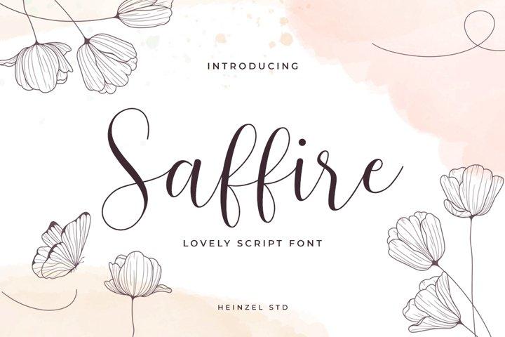 Saffire Lovely Script