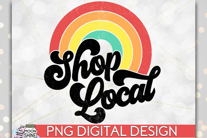 Shop Local PNG Sublimation Design example