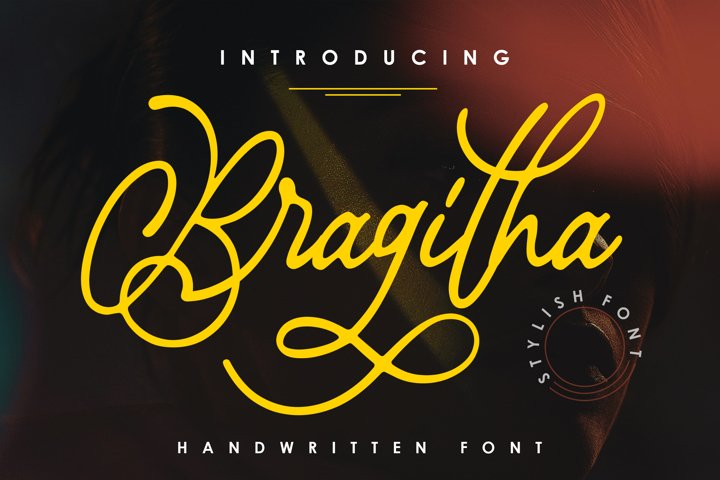 Bragitha - Stylish Font
