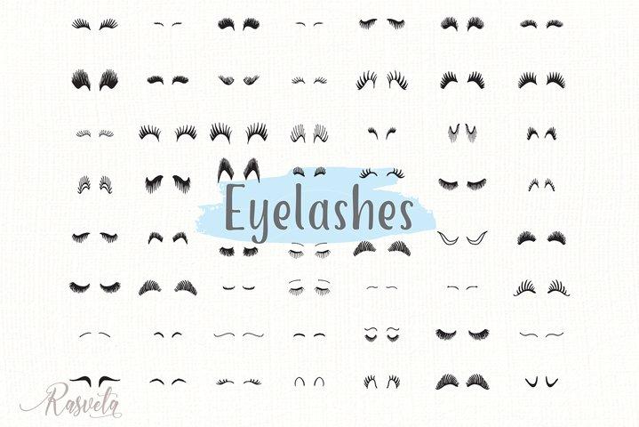 Eyelashes Clipart 1