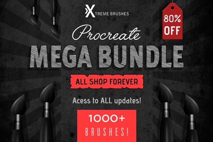 Procreate MEGA BUNDLE