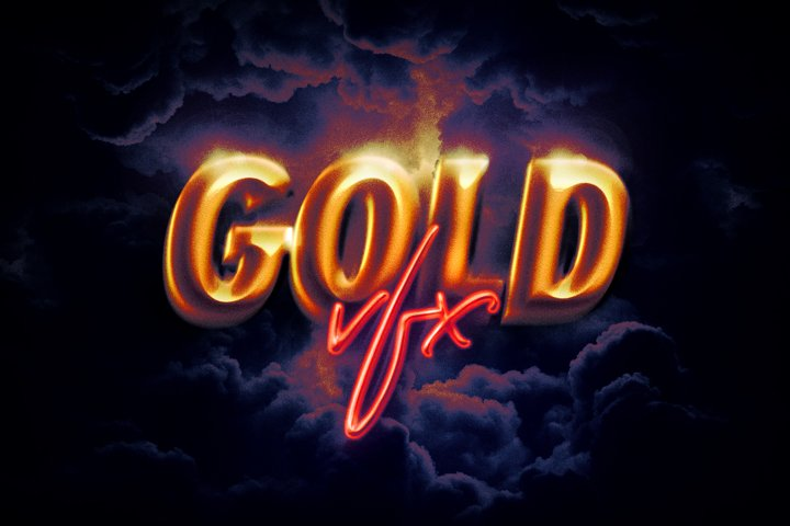 Epic Gold Text Effect